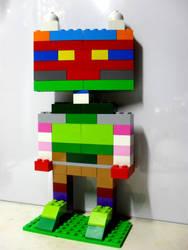 My 10th LEGO Build: Humanoid Figure #1