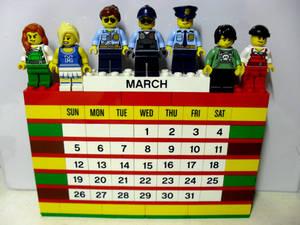 My 11th LEGO Build: Brick Calendar #2
