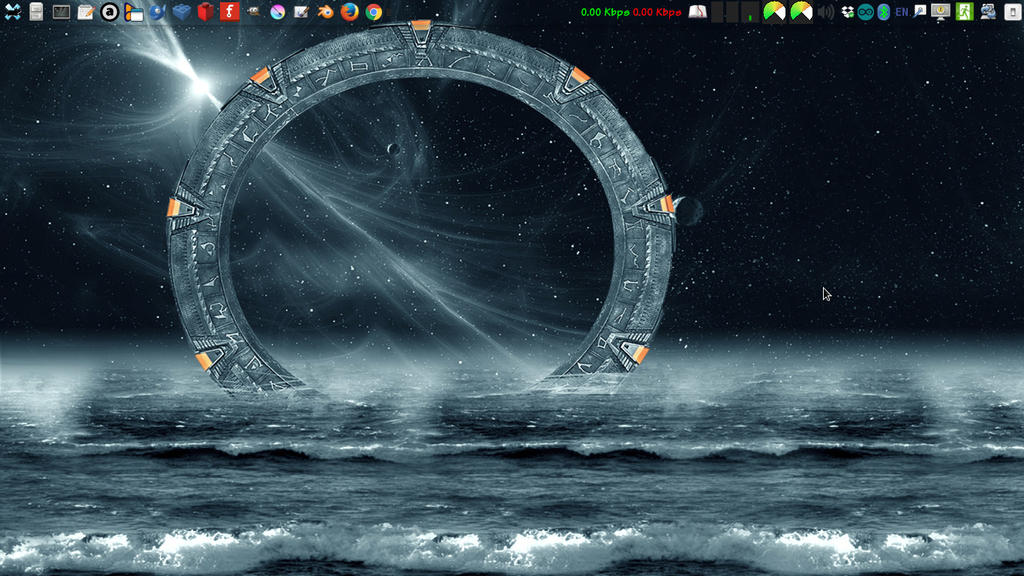 My 64-bit Debian GNU/Linux Desktop by takeshimiranda