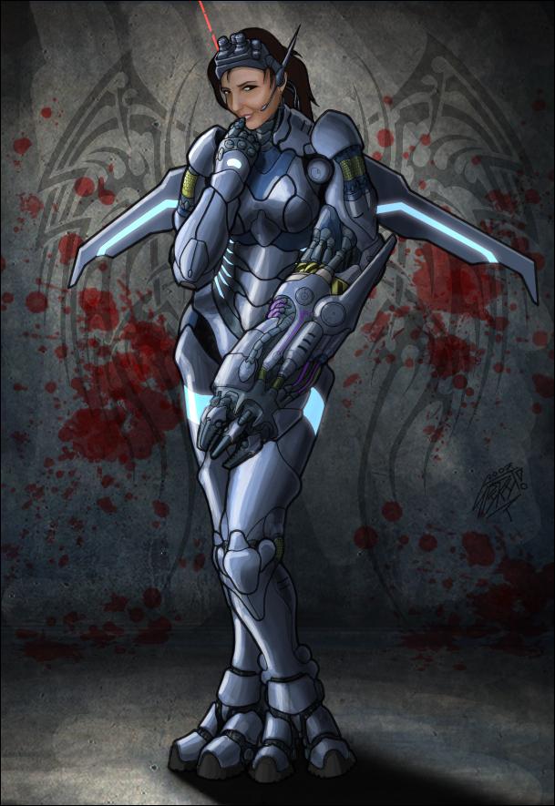 Cyber Suit by spiritamael