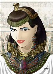 Pharaoh by spiritamael