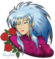 Portret of Ryoko by spiritamael