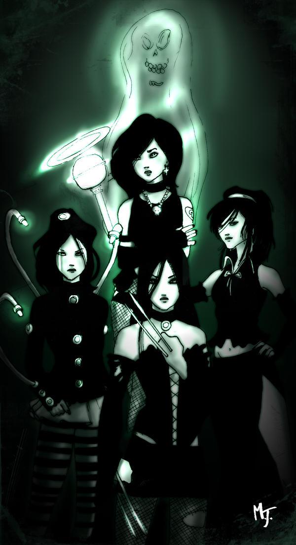 marvel dark ladies by creepythrill