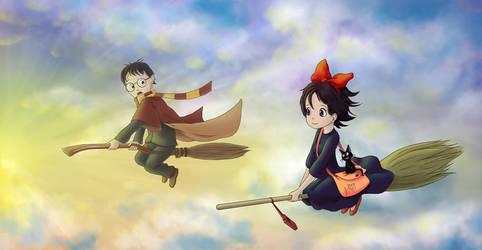 Kiki and Harry by victorpavlovart