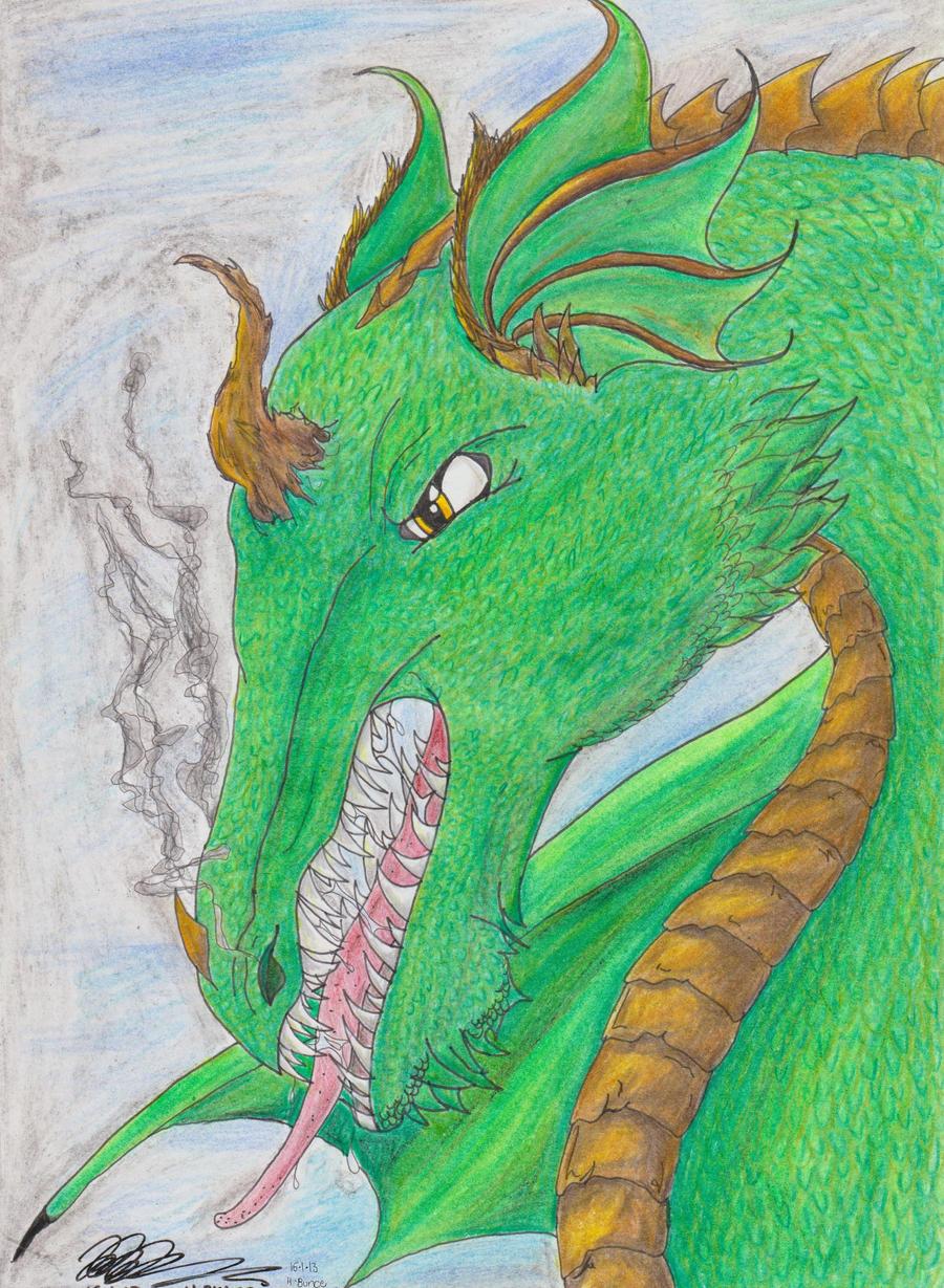 The Emerald Keeper by hapbuk
