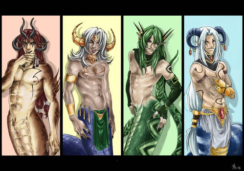 Naga Foursome