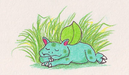 Bulbasaur by Cerulean452