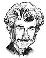George Lucas by JustinWyatt