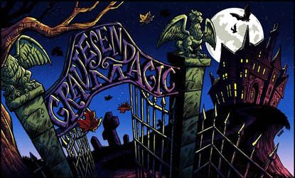 Gravesend Magic Playmat