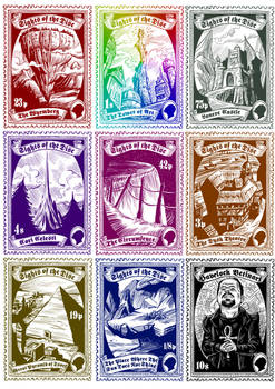 Discworld Stamps