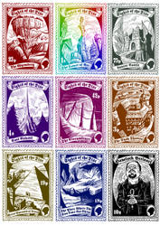 Discworld Stamps by JustinWyatt