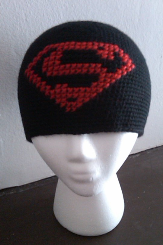 07e5cfed1b5 ... discount superman beanie by diygirl 285c3 31d41