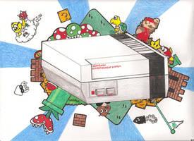Nes Mario by jg233