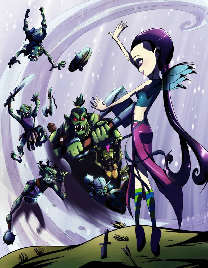 Hay Lin vs Goblins - collab