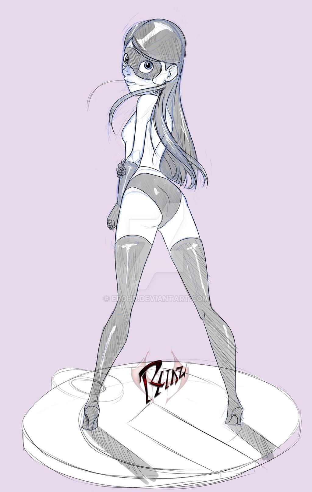 Violet sketch by erohd
