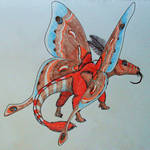 Nocturnal Flower Dragon