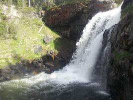 Moose Falls Rainbow