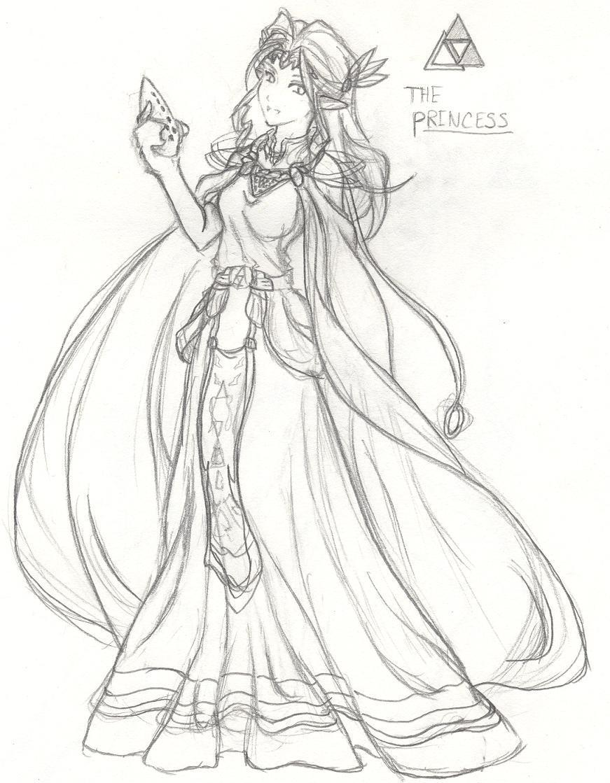 The Princess by FFVirtigo