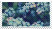 blue flowers .F2U stamp. by ChainOfRain