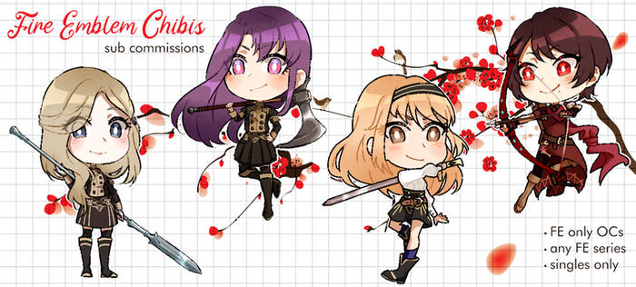 FE Chibis Commissions [closed]
