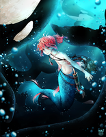 Right here on the ocean floor by nuuti