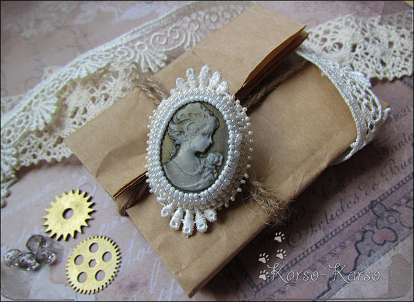 Cameo Brooch by karsokarso