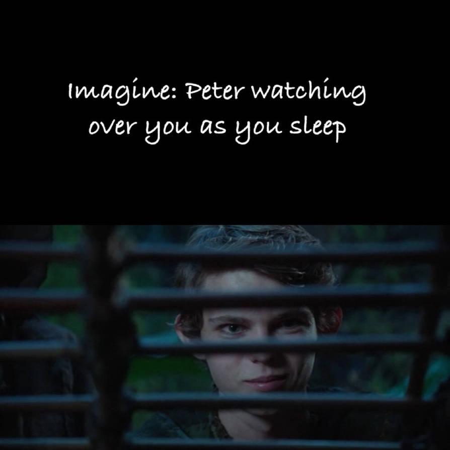 Peter pan imagines clingy