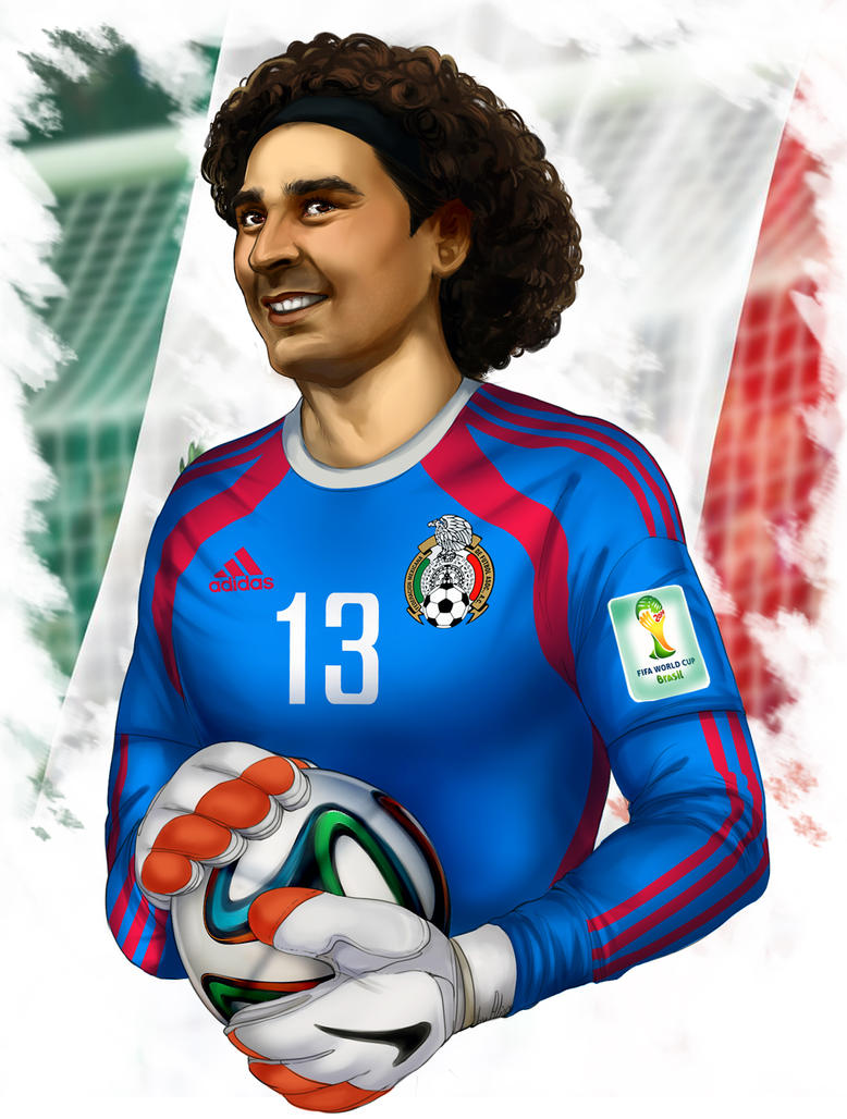 Memo ochoa by alinajames on deviantart - Guillermo ochoa wallpaper ...