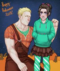Halloween 2018 by AlinaJames