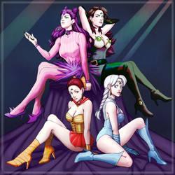 Ayakashi Sisters by AlinaJames