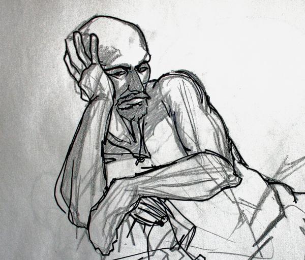 Figure Drawing 6 by jjutt