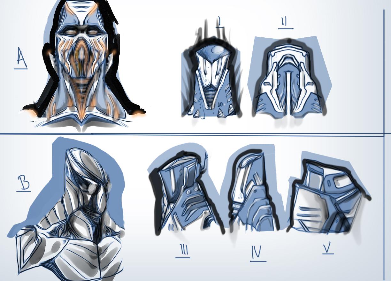 Robot sketchs 3B by jjutt