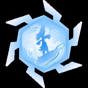 Wave Cloud Surfer Icon