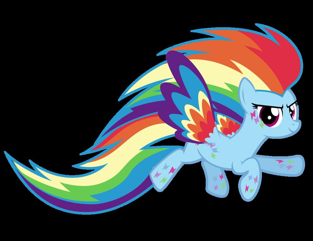 Rainbow Power Rainbow Dash by Ashidaru