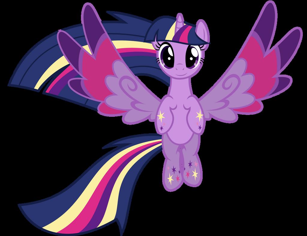 Rainbow Power Twilight Sparkle by Ashidaru