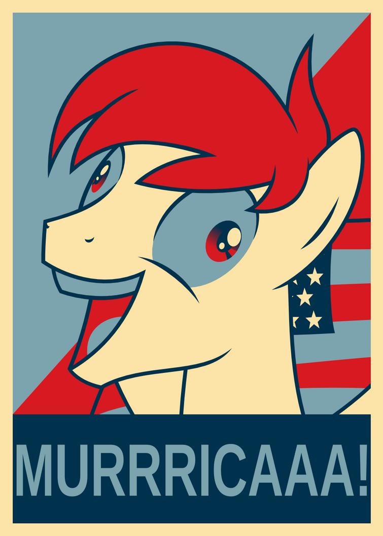 ACRacebest Murrricaaa - Poster version by Ashidaru