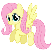 Happy Fluttershy by Ashidaru