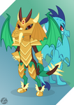 Green Armored Dragon (Ember)