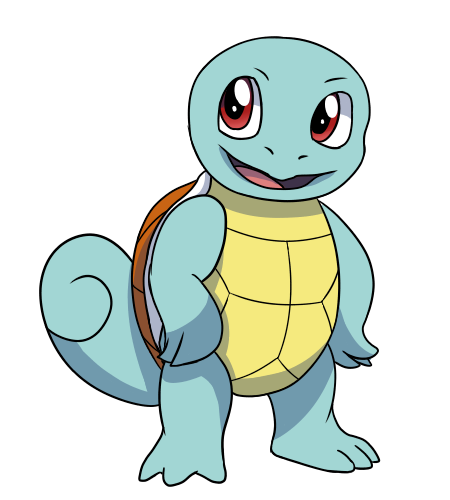 Swaggy Squirtle by Ashidaru