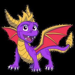 Spyro by Ashidaru