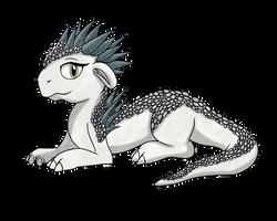 White Aurora Dragon Fan Art