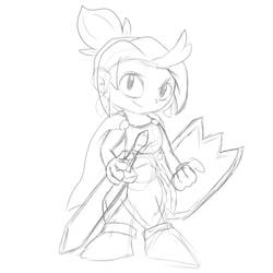 WonderGirl TDT Sketch