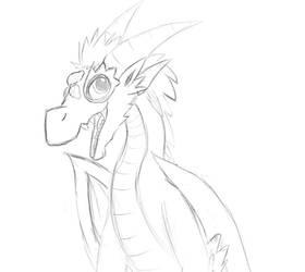 Dragon Tatani 3 Sketch