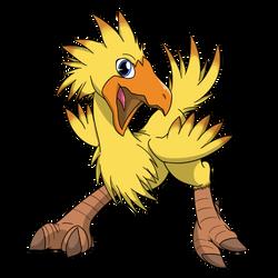 Friend-Shaped-Bird