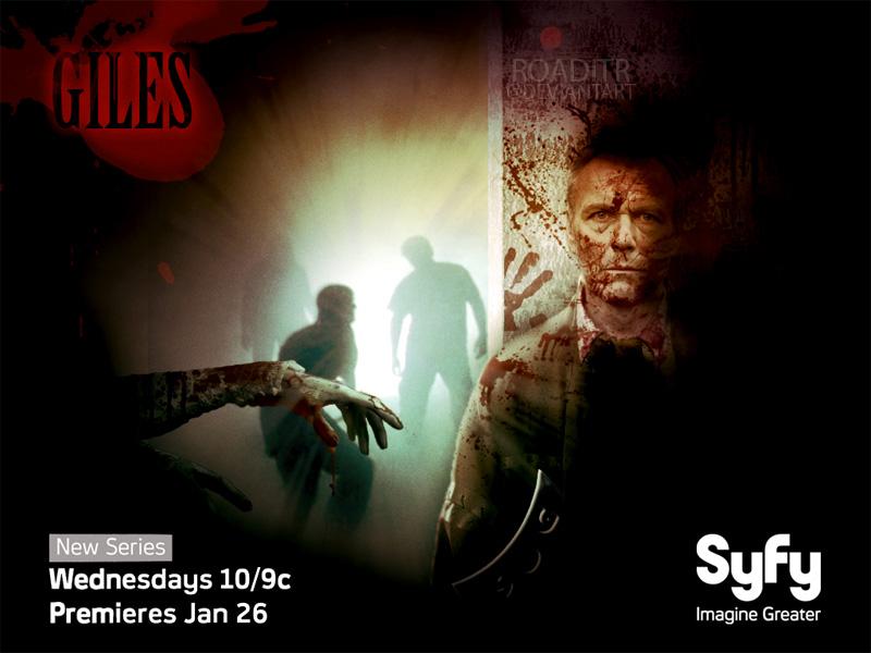 Buffy + Angel Wallpaper Poster: Giles by roaditr