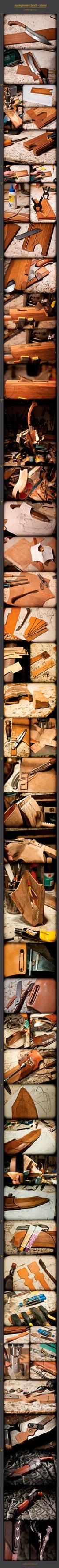wooden sheath tutorial