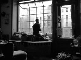 looking out by Batsceba