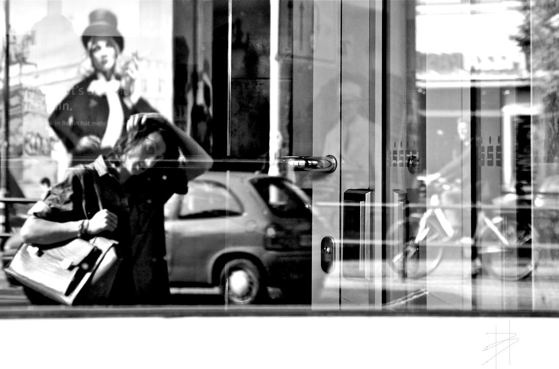 Life is a reflection B/W by Batsceba