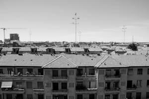 una distesa di tetti by Batsceba