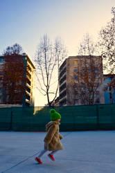 the green hat by Batsceba